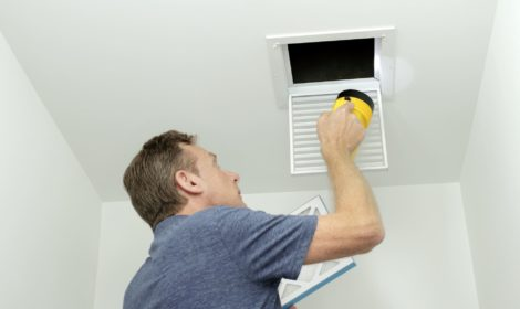 cleaning your air ducts