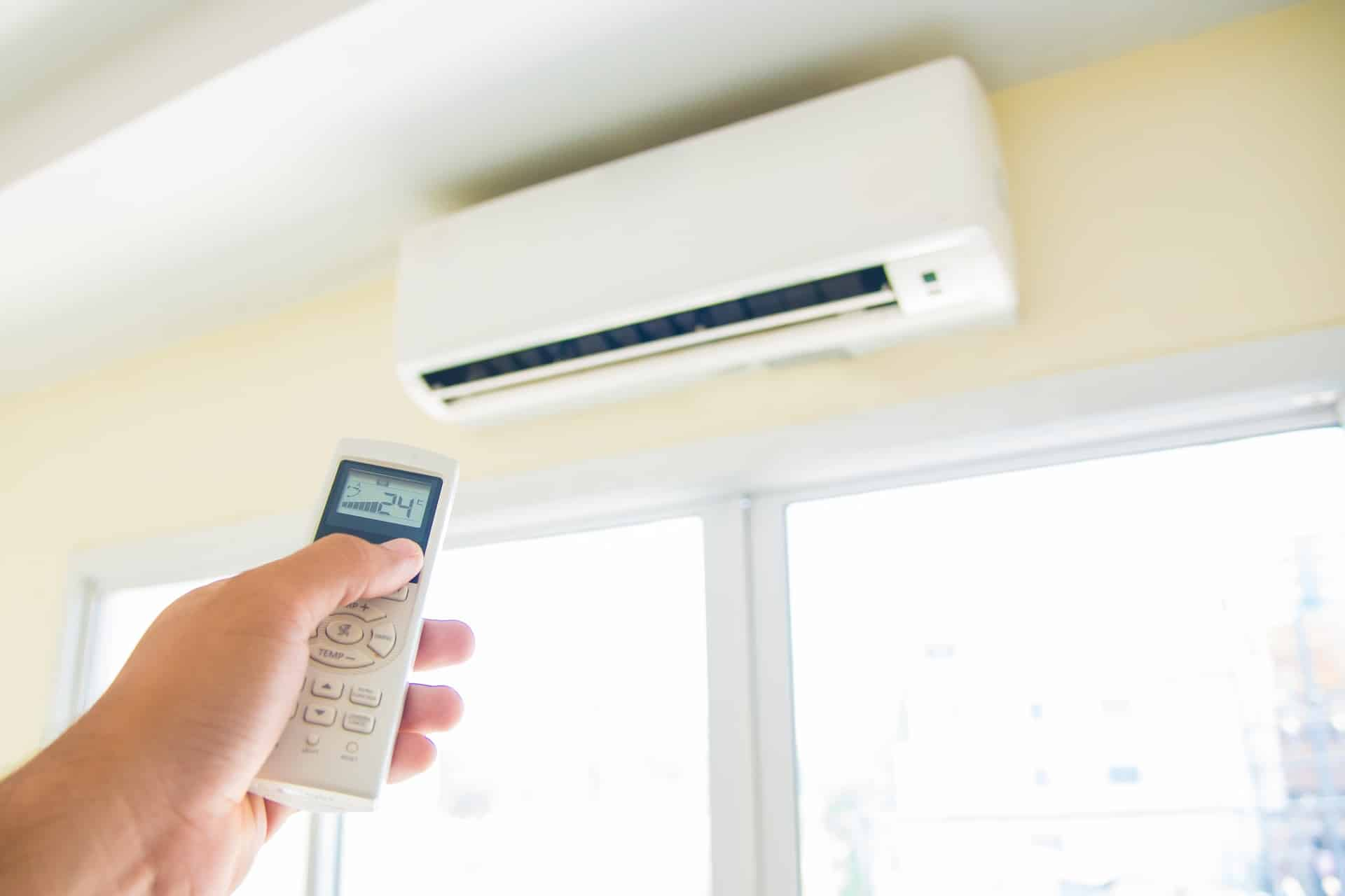 buy a new air conditioner and furnace